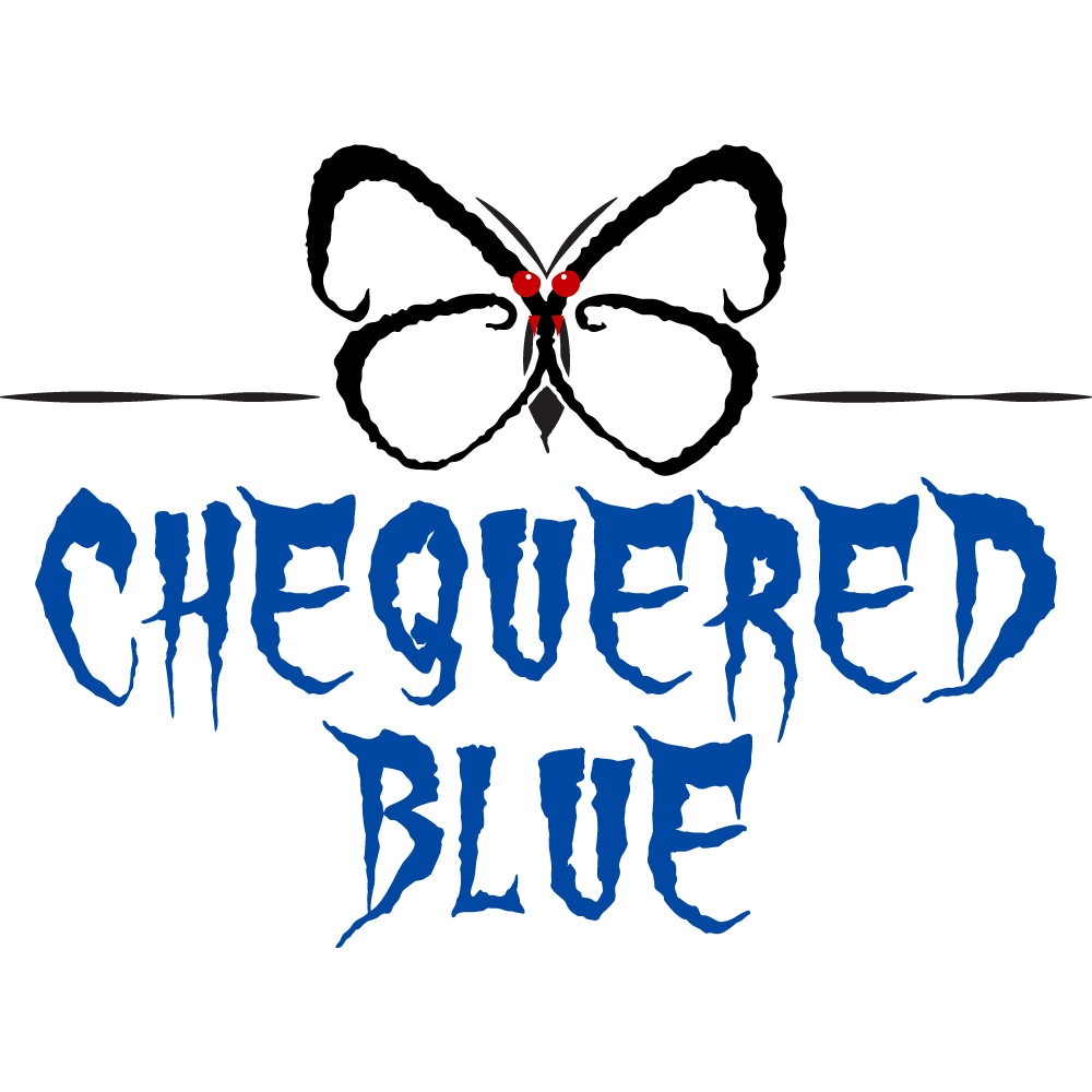 Chequered Blue Band